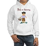 Pirate boy Hooded Sweatshirt