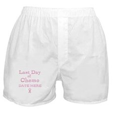 Last Day of Chemo Boxer Shorts