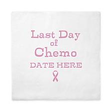 Last Day of Chemo Queen Duvet