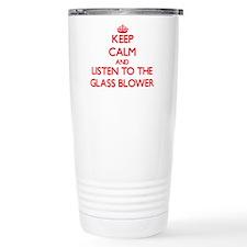 Cute Glass blower Travel Mug