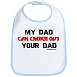 MY DAD CHOKED OUT YOUR DAD Bib