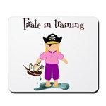 Pirate girl Mousepad