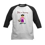 Pirate girl Kids Baseball Jersey
