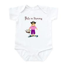 Pirate girl Infant Bodysuit