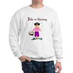 Pirate girl Sweatshirt