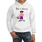 Pirate girl Hooded Sweatshirt