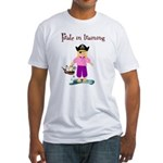Pirate girl Fitted T-Shirt
