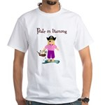 Pirate girl White T-Shirt