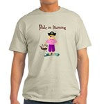Pirate girl Light T-Shirt