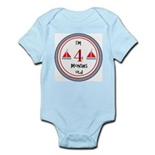 Customizable I'm 'x' Months Old Onesie Body Suit