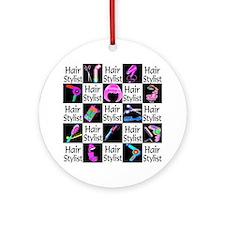 FABULOUS HAIR CUT Ornament (Round)