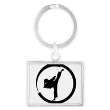 Cute Tang Landscape Keychain