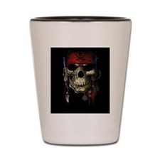 pirate skull Shot Glass