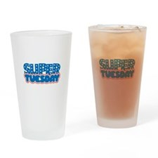 Super Tuesday Drinking Glass