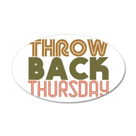 Throwback Thursday Wall Decal