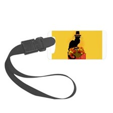 Thanksgiving Le Chat Noir With T Luggage Tag