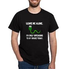 Alone Speaking Snake T-Shirt