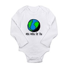 Cute Events Long Sleeve Infant Bodysuit