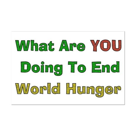 "ending world hunger essay In response to the world hunger crisis, the un high-level task force on the  global  ""ending poverty means effectively safeguarding against exploitation,""  he."