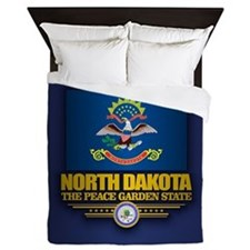 North Dakota (v15) Queen Duvet