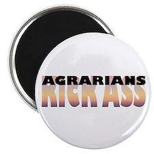 Agrarians Kick Ass Magnet