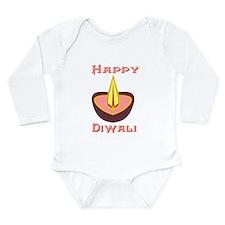 Unique Diwali Long Sleeve Infant Bodysuit