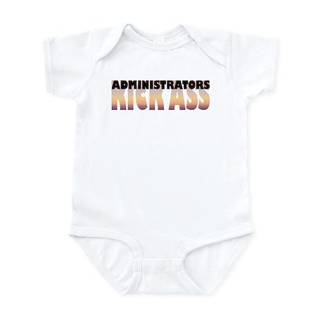 Administrators Kick Ass Infant Bodysuit