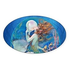 Clive Pearl Mermaid Decal