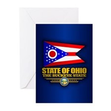 Ohio (v15) Greeting Cards