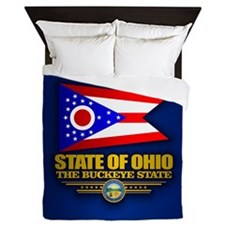 Ohio (v15) Queen Duvet