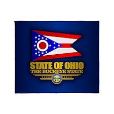 Ohio (v15) Throw Blanket