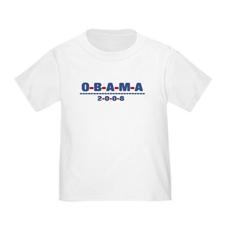 Obama 2008 (dash) Toddler T-Shirt