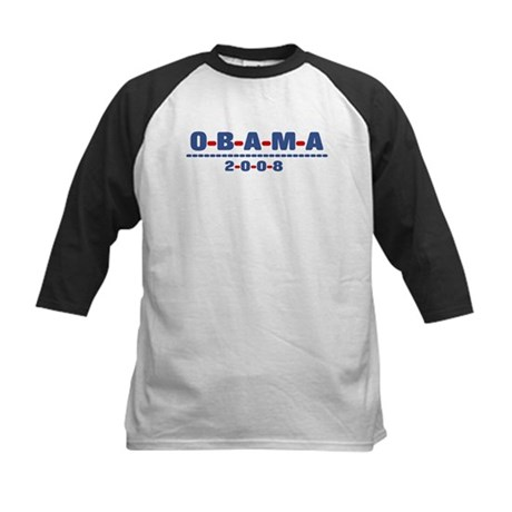 Obama 2008 (dash) Kids Baseball Jersey