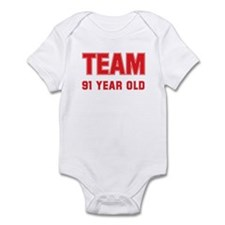 Team 91 YEAR OLD Infant Bodysuit