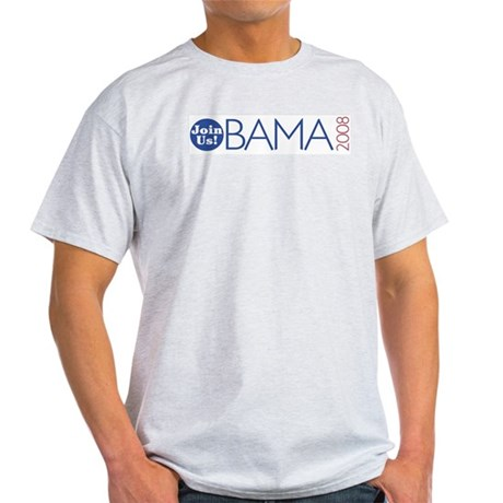 Join Obama 2008 Light T-Shirt