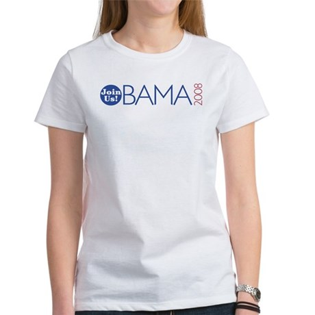 Join Obama 2008 Women's T-Shirt