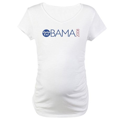 Join Obama 2008 Maternity T-Shirt