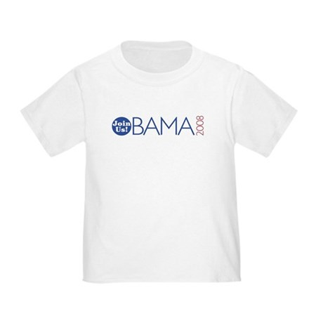 Join Obama 2008 Toddler T-Shirt