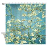 Van Gogh Almond Blossoms Shower Curtain