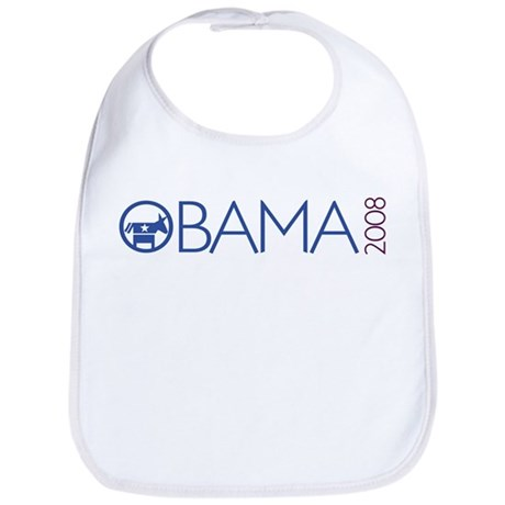 Obama 2008 (democrat) Bib