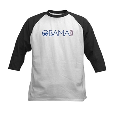Obama 2008 (democrat) Kids Baseball Jersey