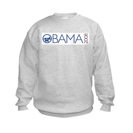 Obama 2008 (democrat) Kids Sweatshirt