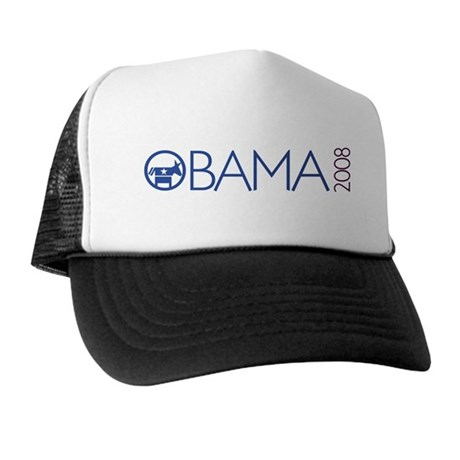 Obama 2008 (democrat) Trucker Hat