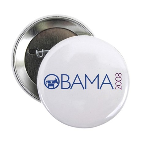 Obama 2008 (democrat) Button