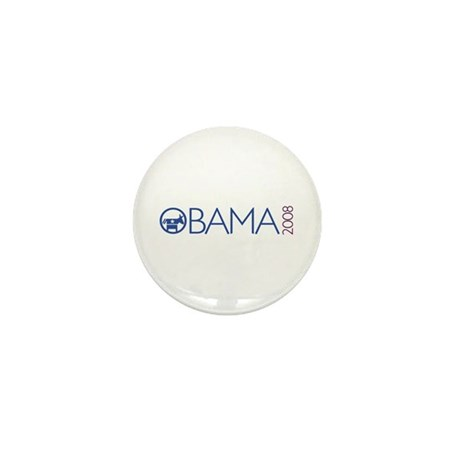 Obama 2008 (democrat) Mini Button (100 pack)