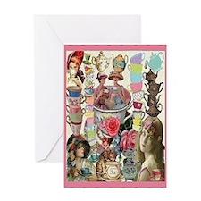 Ladies' Tea Card Greeting Cards