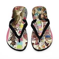 Ladies' Tea Flip Flops