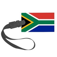 South Africa Flag Luggage Tag