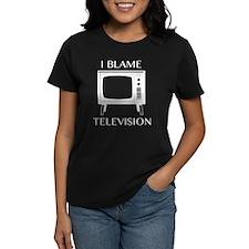 I Blame Television Tee