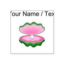 Custom Oyster And Pearl Sticker
